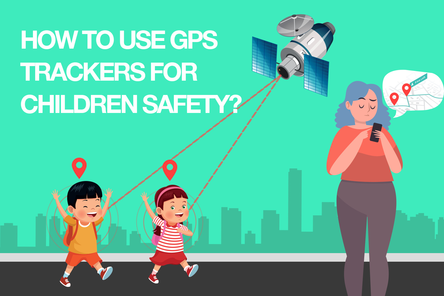 Advantages of Best GPS Tracking Devices for children – SenseNxt Blogs – GPS Tracking